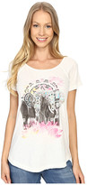 Lucky Brand Elephant Drawing Tee