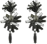 French Connection Stone Statement Chandelier Earrings