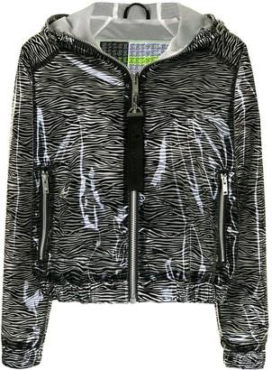 Moose Knuckles Animal-Print Jacket