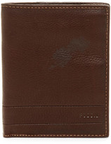 Fossil Lufkin Leather Passport