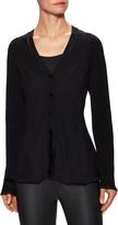 Balenciaga Women's Knit V-Neck Sweater