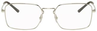 Ray-Ban Silver Square Glasses