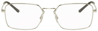 Ray-Ban Silver Square Glasses