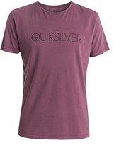 Quiksilver Men's Garment Dyed Short Sleeve Thinner T-Shirt