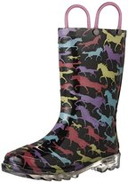Western Chief Kids' Horse Dream Lighted Pull-On Boot