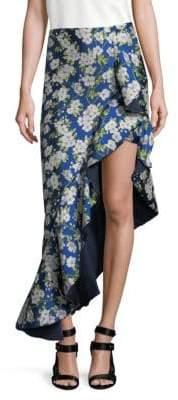 Alice + Olivia Lovetta Wrap Skirt