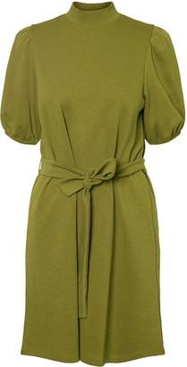 AWARE BY VERO MODA Forest Short Sleeve Organic Cotton Dress