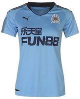 Puma Womens Newcastle United Away Shirt 2017 2018 Domestic Short Sleeve V Neck