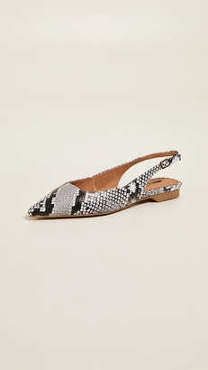 Matiko Lori Point Toe Slingback Flats
