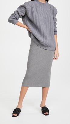 The Andamane Eulalia Midi Skirt