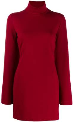 Sara Battaglia flared sleeve shift dress