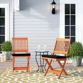 Folse Fabric Folding Chair Brayden Studio