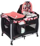 Baby Trend Dotty Resort Elite Nursery Center Playard in Pink/Black