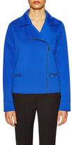 T Tahari Rachel Seam Asymmetrical Zipper Jacket