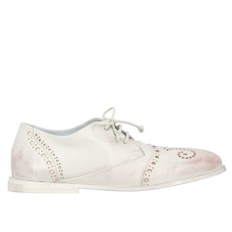 Marsèll Goodpiatto Derby In Leather With Brogue Motif