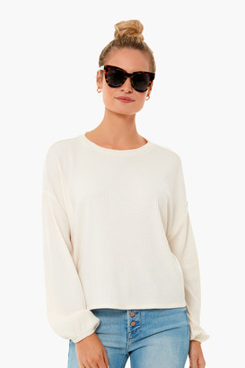 Z Supply Annie Rib Long Sleeve Top