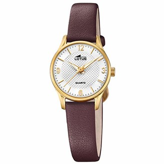 Lotus Women's Analogue Quartz Watch with Leather Strap 18574/B