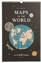 Rifle Paper Co. Maps Of The World 2018 Calendar - Black