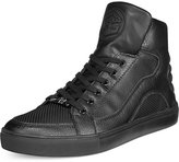 GUESS Thorley Black Logo High-Top Sneakers