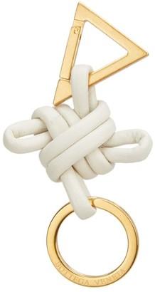 Bottega Veneta Knotted Leather Keychain
