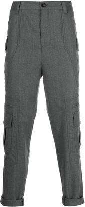 Brunello Cucinelli Cropped Cargo Pants