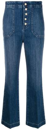 Stella McCartney button-front jeans