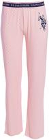 U.S. Polo Assn. Pink Daisy Dot Sleep Pants