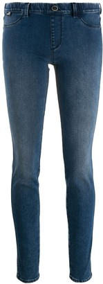 Love Moschino Pull-On Skinny Jeans