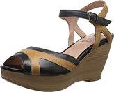 Miz Mooz Women's Yvonna Wedge Sandal