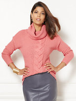 New York & Co. Eva Mendes Collection - Holly Cable-Knit Sweater