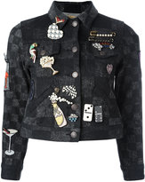 Marc Jacobs multi pin jacket - women - Cotton - XS