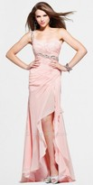 Faviana One Shoulder Pleated Evening Dresses by Glamour