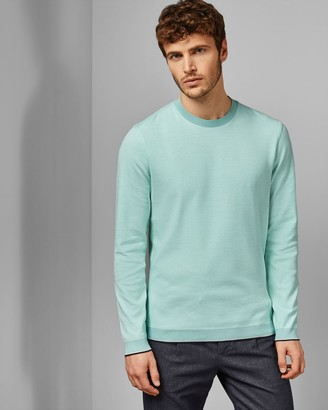 Ted Baker Cotton Crew Neck Jumper