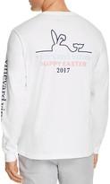 Vineyard Vines Easter Whale Long Sleeve Logo Tee