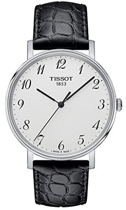 Tissot Everytime Medium - T1094101603200 (Silver/Black) Watches