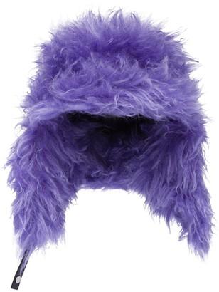 Prada Fluffy Ear-Flap Hat