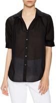 Lafayette 148 New York Jerricia Button Up Shirt