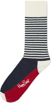Happy Socks Half Stripe Socks