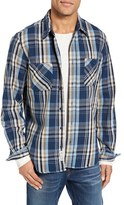 Schott NYC Men's Classic Fit Plaid Flannel Shirt