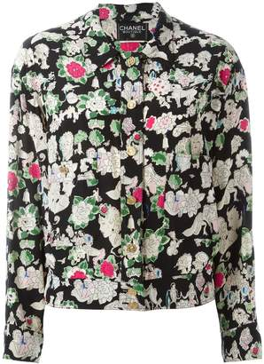 Chanel Pre-Owned 1990's floral print jacket
