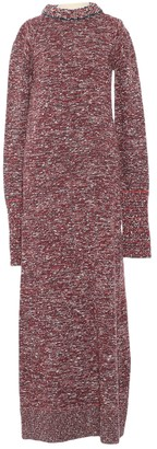 Celine Red Cotton Dress for Women