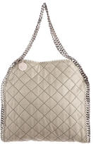 Stella McCartney Quilted Shaggy Deer Falabella Bag