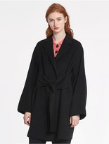 CK Calvin Klein Lightweight Wool Cashmere Coat