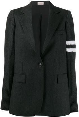 Mrz Stripe-Detail Fitted Blazer