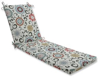 Alcott Hill Indoor/Outdoor Chaise Lounge Cushion Fabric: Gray