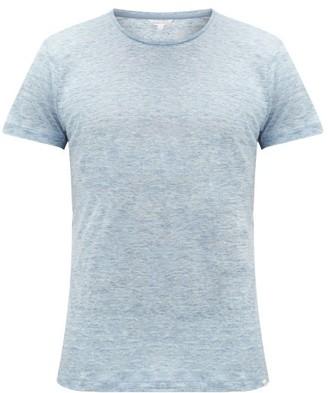 Orlebar Brown Ob-t Slubbed-linen T-shirt - Light Blue