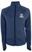 NCAA Arizona Wildcats Women's Synthetic Full Zip Activewear Sweatshirt