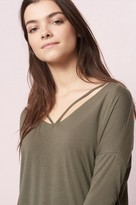 Garage V Neck Strap Tunic