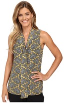 MICHAEL Michael Kors Rowan Tie Neck Sleeveless Top