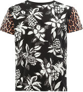 Saint Laurent pineapple print T-shirt - men - Cotton - M